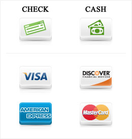 Payment options visa mastercard cash accepted payment